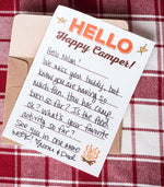 Annie Taylor Designs - Happy Camper! notepad