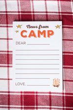 Annie Taylor Designs - News from Camp notepad