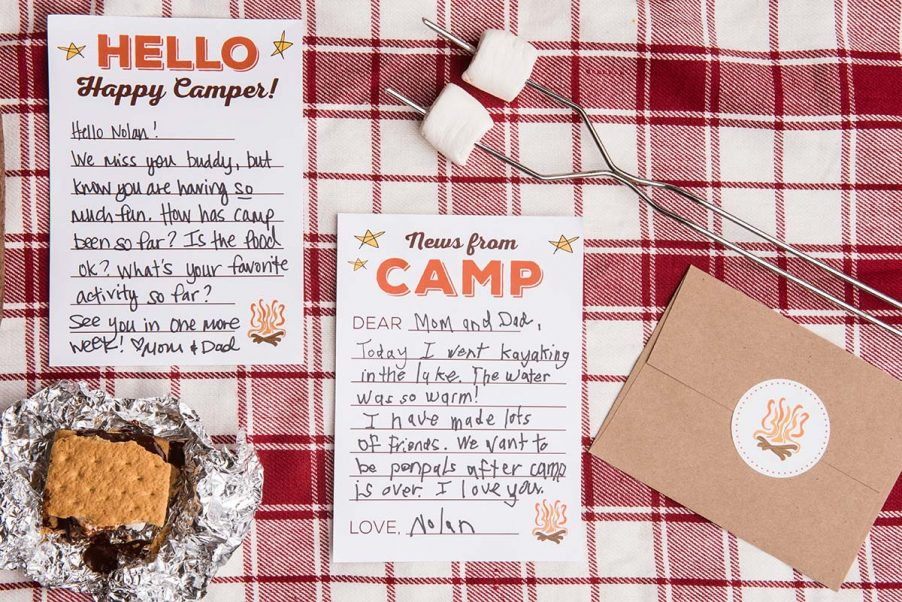 News from Camp notecards