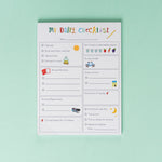 Daily Checklist for Kids notepad