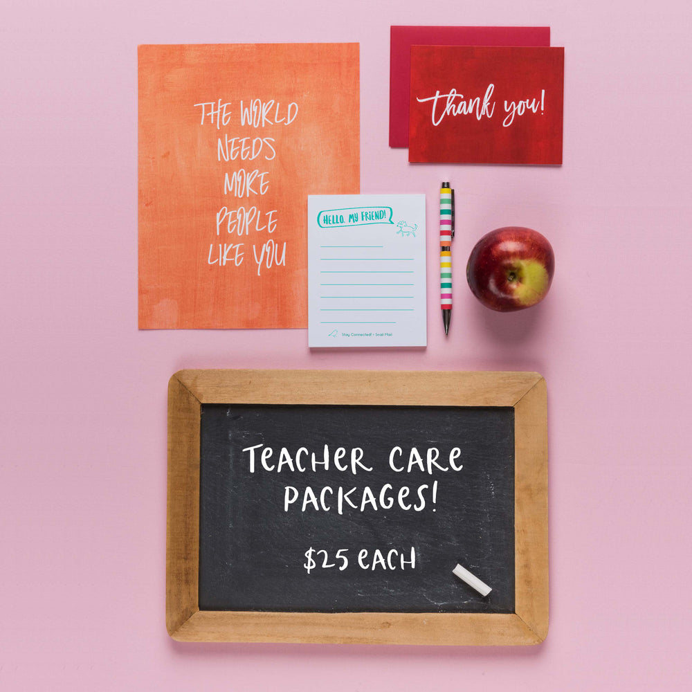 Teacher Care Package