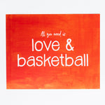 Love & Basketball print