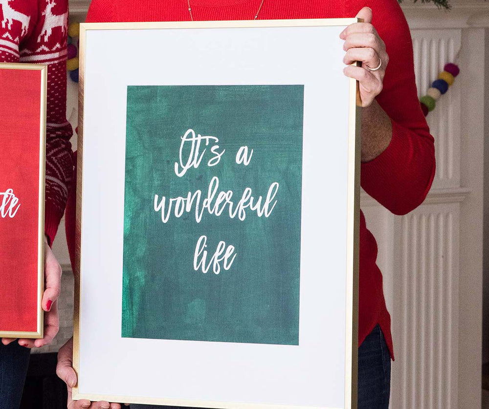 Annie Taylor Designs - It's a Wonderful Life print