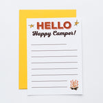 Happy Camper! notecards