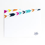 Modern Arrow Hello Notecards