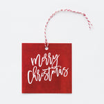 Happy Holidays Hang Tags