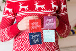 Annie Taylor Designs - Happy Holidays Hang Tags