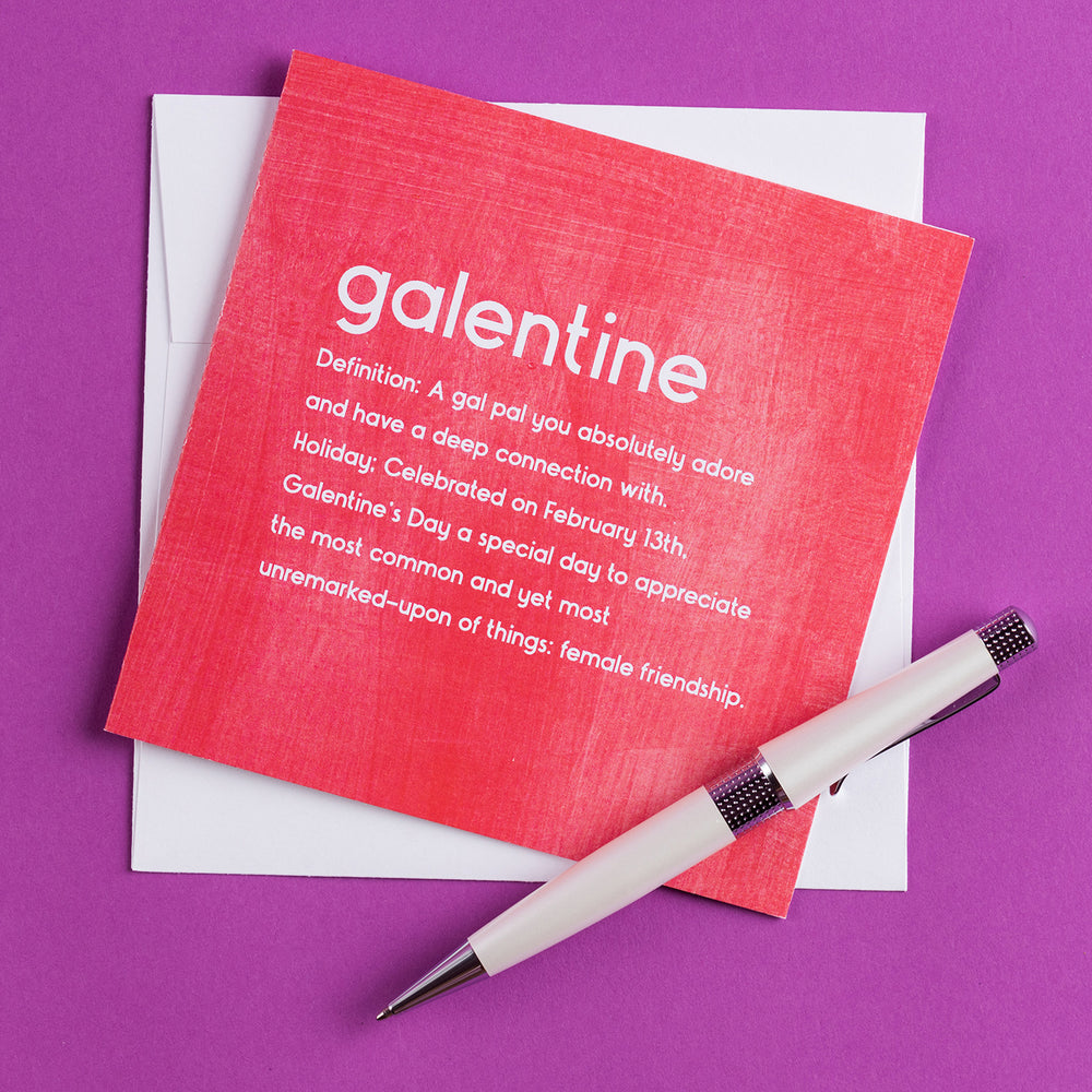 Galentine Square Greeting Card