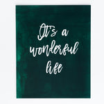 It's a Wonderful Life print
