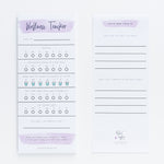 Jessica's Wellness Tracker notepad