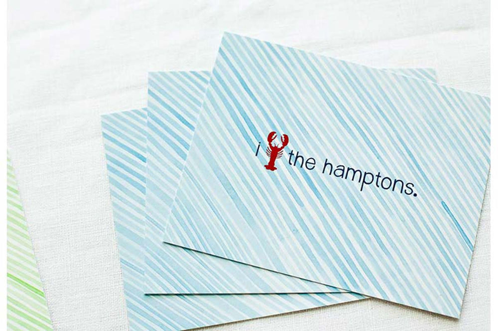 Annie Taylor Designs - The Hamptons Lobster Notecards