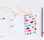 Annie Taylor Designs - Modern Arrow hang tags