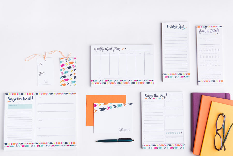 Modern Arrow Organizational Bundle