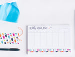 Annie Taylor Designs - Weekly Meal Plan notepad