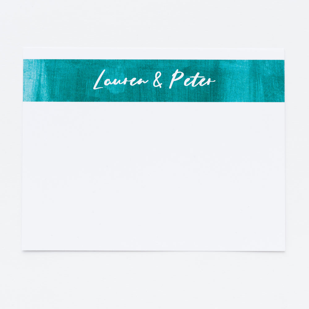 Couple Personalized Notecards