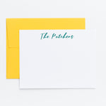 Family Personalized Notecards