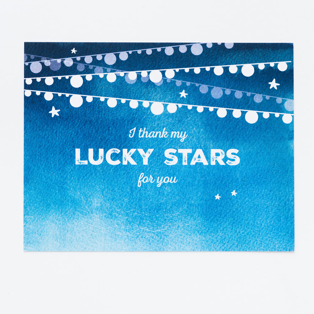Lucky Stars Kids Thank You Notecards