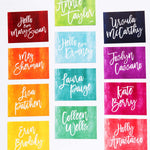 Rainbow Personalized Notecards