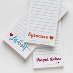 Finger Lakes notepad