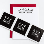 Kids Baseball Personalized Notecards