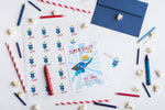 Super Sully Personalized Invitations