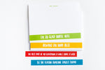Teacher Positivity Personalized notepad