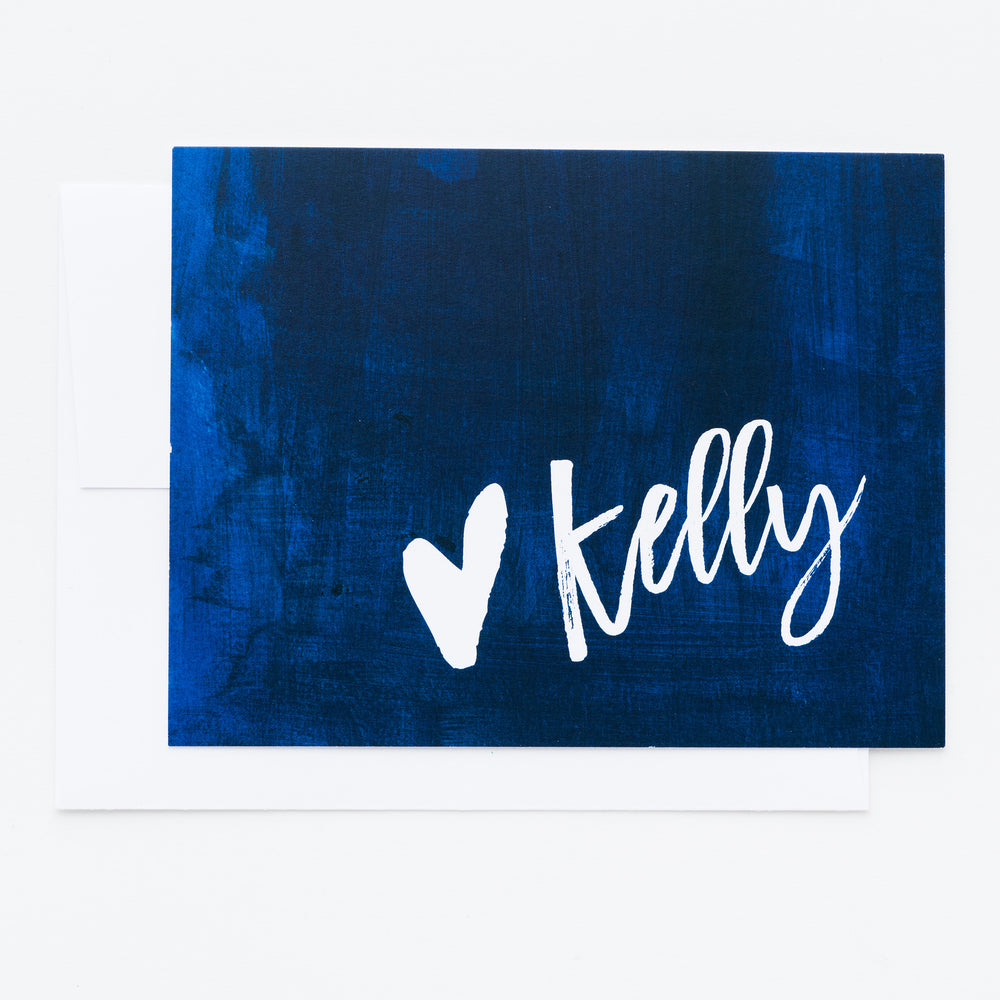 Watercolor Personalized Notecards