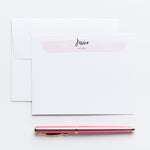 Jessica Personalized Notecards