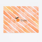 Orange Syracuse Notecards