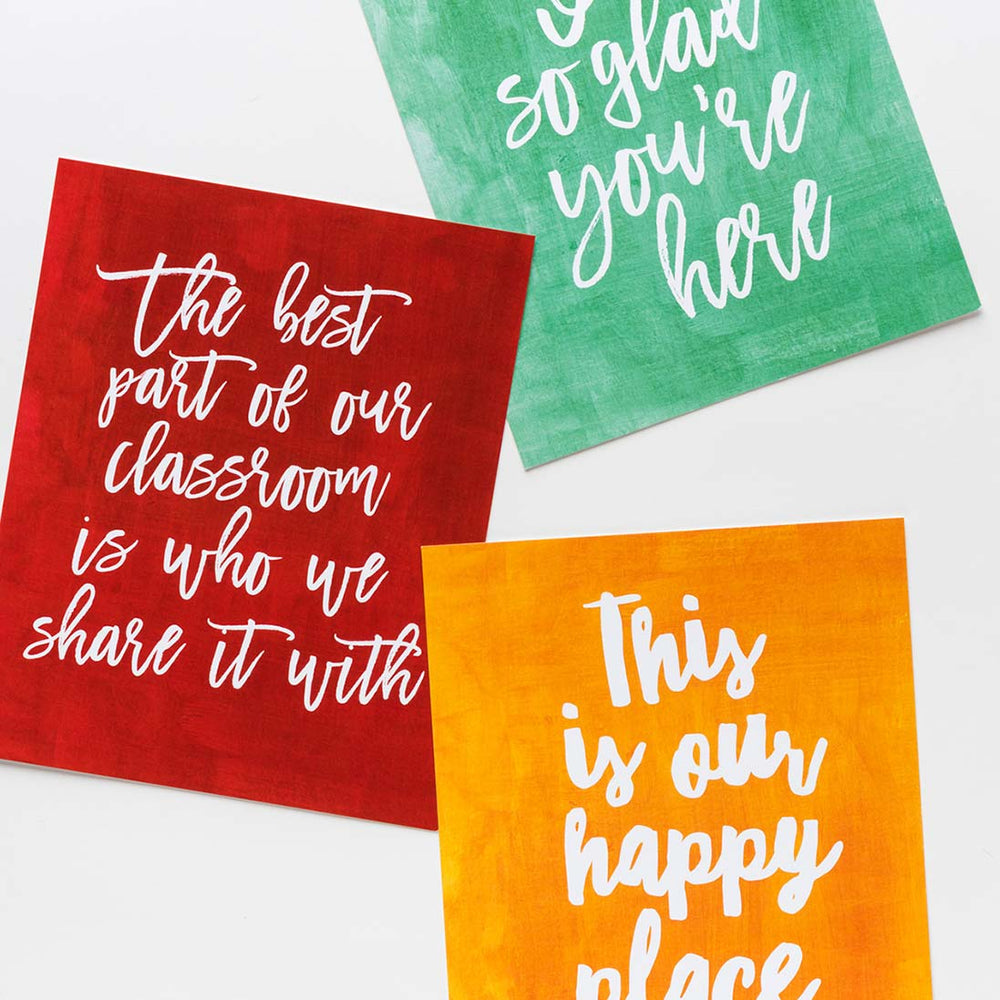 Classroom prints collection