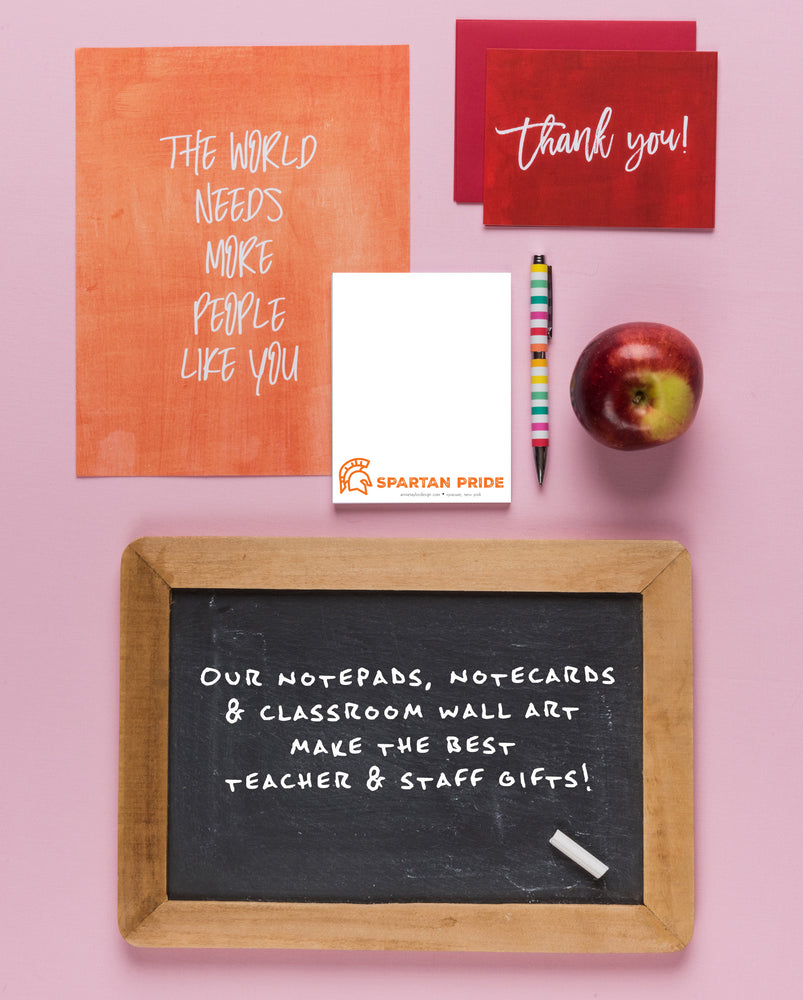 Personalized School Notepad Set