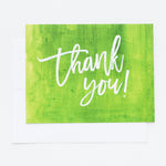 Greenery Thank You notecards