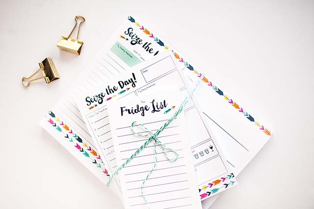 Annie Taylor Designs - Modern Arrows notepad bundle