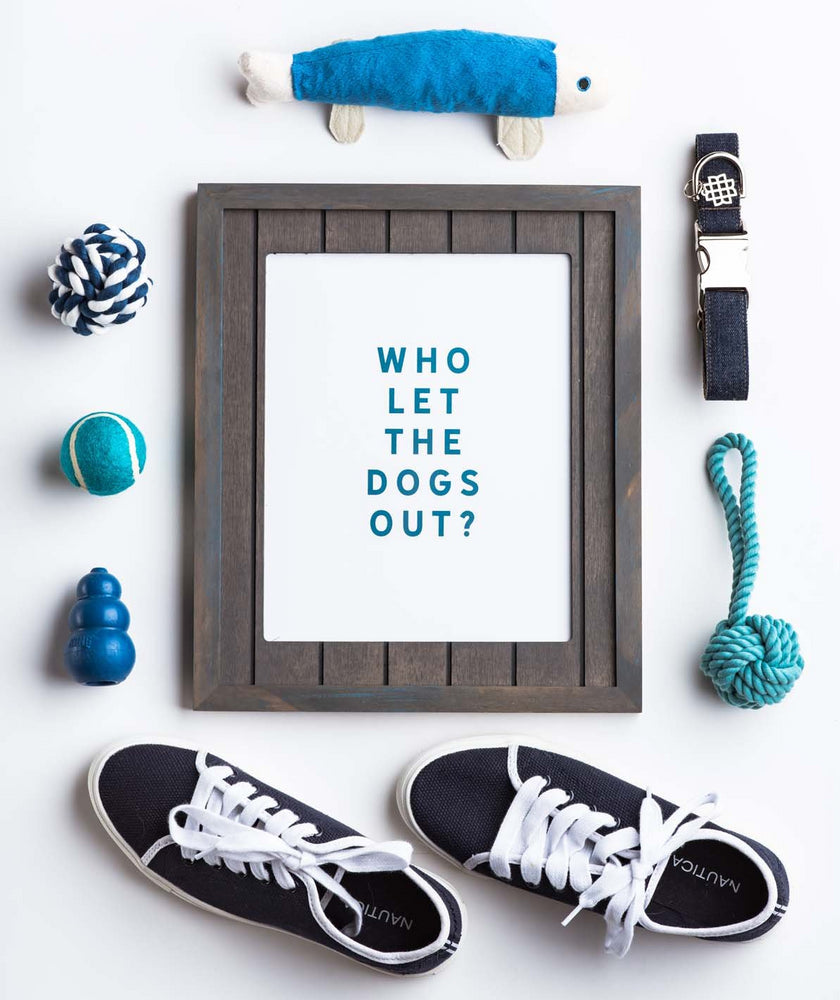 Annie Taylor Designs - Who Let the Dogs Out print