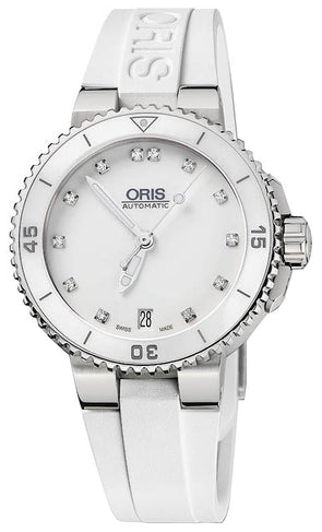 Oris Aquis Date Diamonds 36mm Ladies Watch