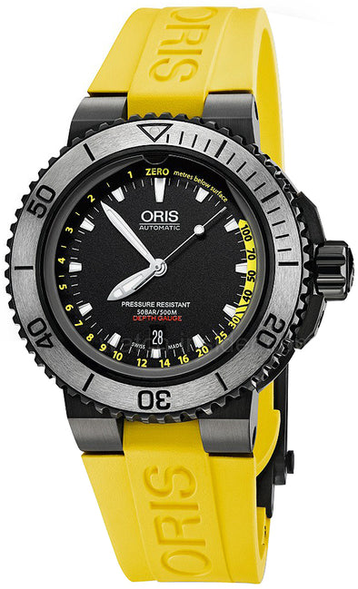 Oris Aquis Depth Gauge 46mm Mens Watch
