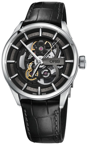 Oris Artix Skeleton Mens 39mm Watch