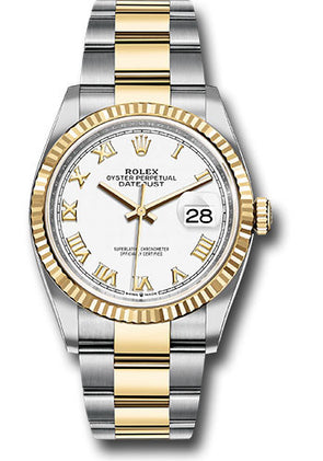 Rolex 36Mm Oystersteel & 18K Yellow Gold Datejust Watch