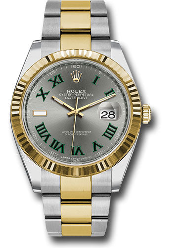 Rolex 41Mm Oystersteel & 18K Yellow Gold Datejust