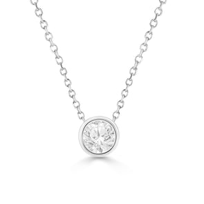 1/3 Ct Diamond Stud Necklace (VDAY PROMO)