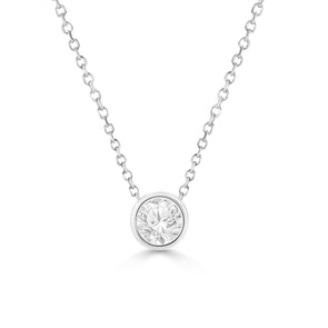 1/5 Ct Diamond Stud Necklace (VDAY PROMO)