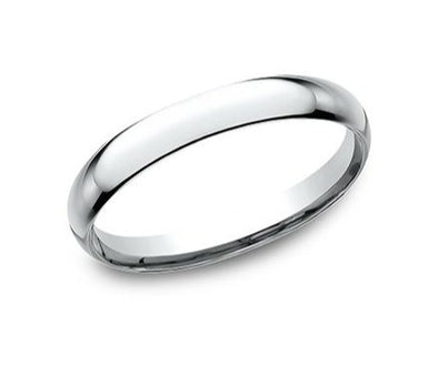 14K Comfort Fit Polished 2.5Mm Band