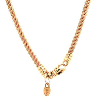 18K Yellow Gold Thick Rope Chain