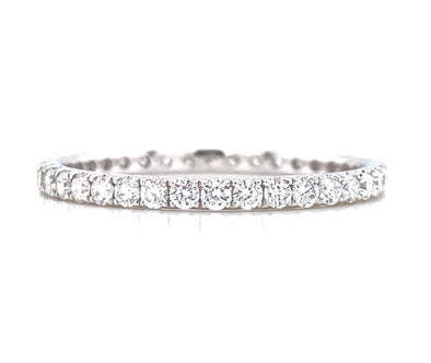 14K White Gold 0.53ct Diamond Eternity Band