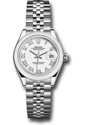 Rolex 28Mm Oystersteel Datejust Watch