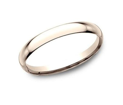 14K Comfort Fit Polished 2Mm Band