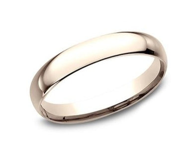 14K Comfort Fit Polished 3mm Band