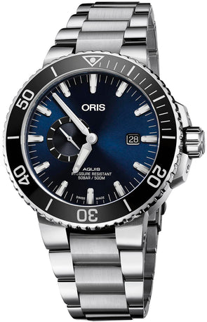Oris Aquis Small Second, Date 45.5 Mens Watch