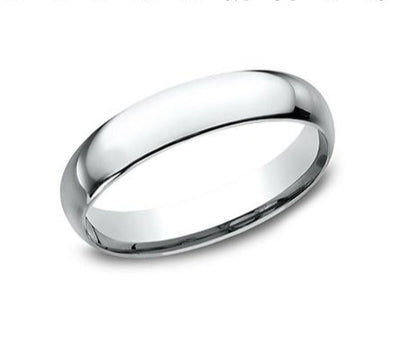 14K Comfort Fit Polished 4mm Band