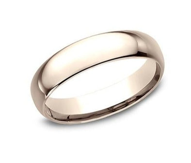 14K Comfort Fit Polished 5mm Band